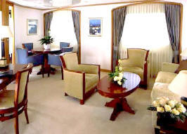 Seadream Yacht Club Cruises: Owner`s Suite